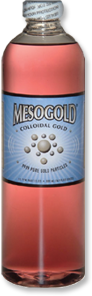 MesoGold® Ouro Coloidal Embalagem